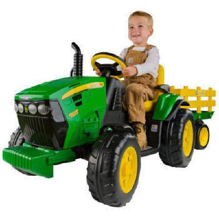 Tractor electrico infantil Ground Force